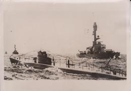 FINNLAND  MIT DEUTSCHLANG GEGEN UDSSR RUSSIA   KRIEGSMARINE FOTO DE PRESSE WW2 WWII WORLD WAR 2 WELTKRIEG - Schiffe