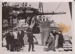 BEWEIS ENGLANDS SEEPIRATENTUM BEWAFFNET HANDELSSCHIFFE  KRIEGSMARINE FOTO DE PRESSE WW2 WWII WORLD WAR 2 WELTKRIEG - Schiffe