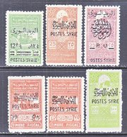 FRENCH  SYRIE  306-10    * - Unused Stamps