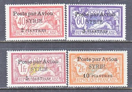 FRENCH  SYRIE  C 18-21     * - Airmail