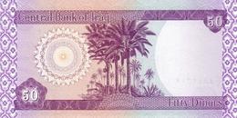IRAQ P.  90 50 D 2003 UNC (2 Billets) - Iraq