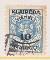 MEMEL   N 7     (o) - Memel (1920-1924)