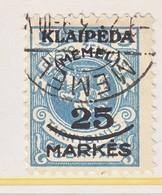 MEMEL   N 8     (o) - Memel (1920-1924)
