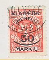 MEMEL   N 9     (o) - Memel (1920-1924)
