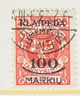 MEMEL   N 10     (o) - Memel (1920-1924)