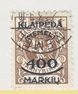 MEMEL   N 11     (o) - Memel (1920-1924)