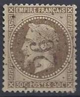 No 30  0b  Etoile CH. 26. Gare Du Nord - 1863-1870 Napoléon III Lauré