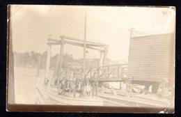AS926) Brisbane - People On Sail Boats - Real Photo Postcard - 1911 - Brisbane