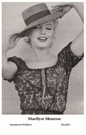MARILYN MONROE - Film Star Pin Up PHOTO POSTCARD- Publisher Swiftsure 2000 (201/855) - Postales