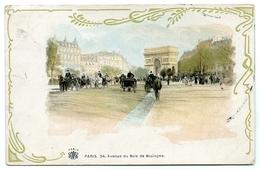 75 : PARIS - AVENUE DU BOIS DE BOULOGNE - Arc De Triomphe