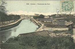 VANNES  -- Panorama Du Port                               -- David  026 - Vannes