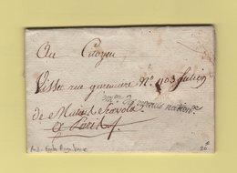 Franchise - Commission Des Revenus Nationaux - Courrier De L An 3 Evoquant La Fonte D Argenterie - Postmark Collection (Covers)