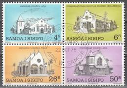 LOTE 1803  ///  (C090) SAMOA 1979  SCOTT Nº:  517/520    ¡¡¡ LIQUIDATION - OFERTA !!!! - Samoa