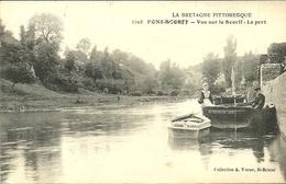 PONT-SCORFF  -- Vue Sur Le Scorff, Le Port                           -- Waron 5108 - Pont Scorff