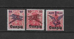 LOTE 1802  ///  (C205) DANZIG 1920  SCOTT Nº: C1-3 *MH   ¡¡¡ LIQUIDATION - OFERTA !!!! - Dantzig