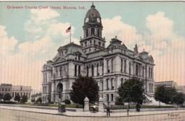 Indiana Muncie Delaware County Court House - Muncie