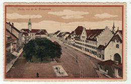 Suisse // Schweiz // Switzerland // Fribourg // Bulle , Rue De La Promenade - FR Fribourg