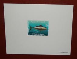 MAROKKO MOROCCO MARRUECOS  MAROC POISSON FISH THUNNUS THYNNUS  EPREUVE DE LUXE ( DELUXE PROOF ) 2006 - Marruecos (1956-...)