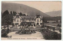 Suisse // Schweiz // Switzerland // Neuchâtel //  Hôpital Cantonal De Perreux, Pavillon Pernod - NE Neuchâtel