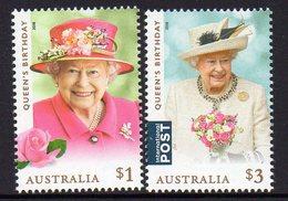 AUSTRALIA, 2018 QUEENS BIRTHDAY 2 MNH - 2010-... Elizabeth II