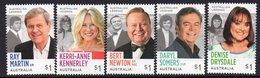 AUSTRALIA, 2018 TV LEGENDS 5 MNH MNH - 2010-... Elizabeth II
