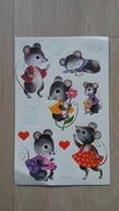 Aufkleber-Set Mit Mäuse-Motiven - Aufkleber