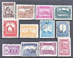 AFGHANISTAN   269-80     *   (o) - Afghanistan