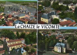 CPSM  La Chaize Le Vicomte  Multivues - La Chaize Le Vicomte