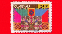 GUATEMALA - Usato - 2010 - Industria Tessile - Tessuti - Textiles Handicraft - Q 4.00 - Guatemala