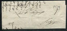 """Bayern / 1819 / Vorphila-Brief Ex Wuerzburg Mit Wappen-Stempel """"W"""" (1/977) - Allemagne"""