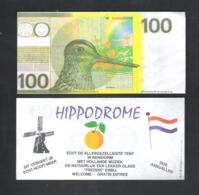 BANKBILJET 100 GULDEN - POELSNIP - HiPPODROME   (BB 17) - [6] Fictifs & Specimens