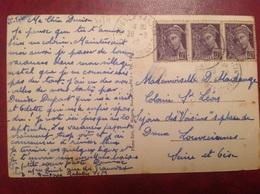 Guignes Rabutin Vieux Moulin Et Viaduc, Type Mercure 1942 - Autres Communes