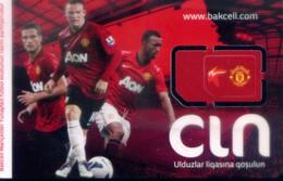 Azerbaïjan GSM SIM Card, Football (1pcs,MINT)(sample) - Azerbaïjan