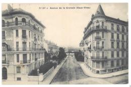 Suisse Genève. Eaux Vives, Avenue De La Grenade (7567) - GE Ginevra