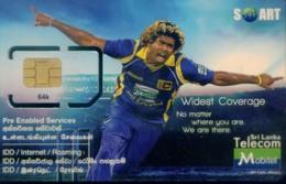 Sri Lanka GSM SIM Card, Sport (1pcs,MINT) - Sri Lanka (Ceylon)
