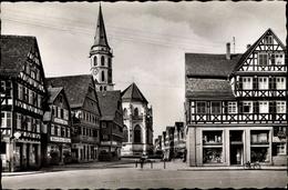 Cp Schorndorf In Bade Württemberg, Gottlieb Daimler Straße - Germany