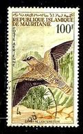 MAURITANIE Aer34° 100f Vert, Violet-brun Et Brun-jaune Oiseaux Ganga De Liechtenstein (10% De La Cote + 0,15) - Mauritanie (1960-...)