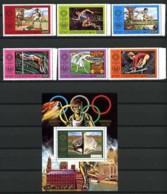 Comores - ETAT COMORIEN - 150 / 153 + PA 108 / 109 + BF 2 - Jeux Olympiques De MONTREAL 1976 - Neufs N** - Summer 1976: Montreal