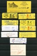 Lot 11 Carnets - Certains à Composition Variable, Poste Colbert, Etc ... - Cote Sup. à 200 Euros. - Carnets