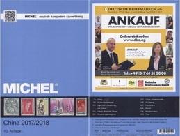 Michel Catalogs Stamps China 2017-2018 Volume 9.1 On DVD - 1949 - ... République Populaire