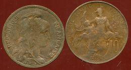 FRANCE  10 Centimes Dupuis  1916 - D. 10 Centimes