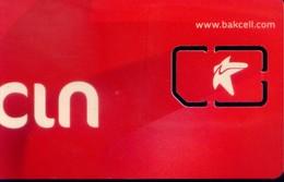Azerbaïjan GSM SIM Card,  (1pcs,MINT) - Azerbaïjan