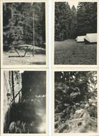 Roumont Camp Scout 1958 ( Lot De 4 Cartes Postales ) - Bertogne