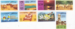 Qatar 1974, Landscapes, Incl.Birsd-animals, Complete Set MNH 8 V. Redcued Price - SKRILL PAY  ONLY - Qatar