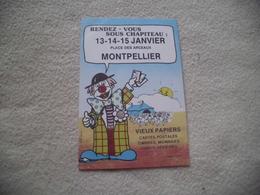 BOURSE COLLECTIONS...MONTPELLIER...SIGNE KRIS ADZEL HAERDE - Collector Fairs & Bourses