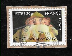 FRANCE 3805 Adhésif 55 Naissance C'est Un Garçon . - France