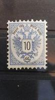 AUTRICHE 10k Bleu Yv 43 - 1850-1918 Imperium