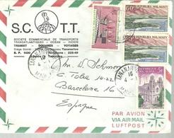LETTER 1969 - Madagascar (1960-...)