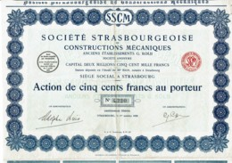 67-STRASBOURGEOISE DE CONSTRUCTIONS MECANIQUES. ANC. ETS G. KOLB. STRASBOURG - Other