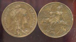 FRANCE  10 Centimes Dupuis  1916 * - D. 10 Centimes